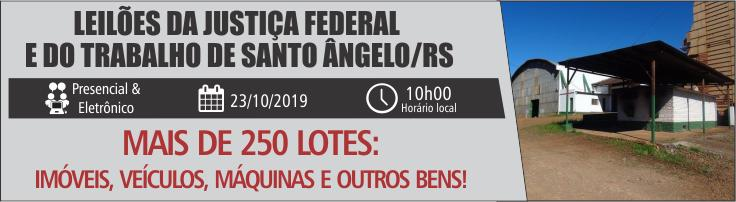 SANTO ANGELO/RS 09 E 23-10-2019